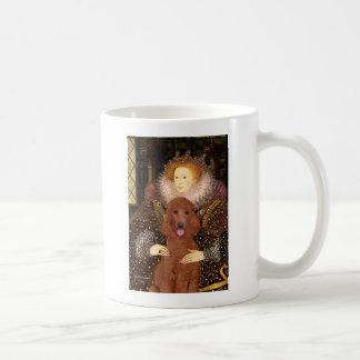 Queen - Dark Red Standard Poodle #1 Coffee Mug