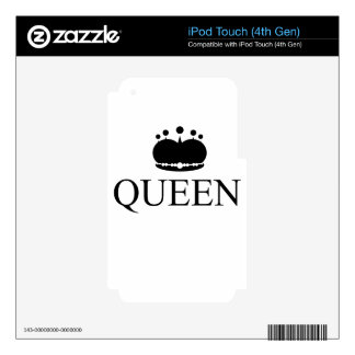 queen decal for iPod touch 4G