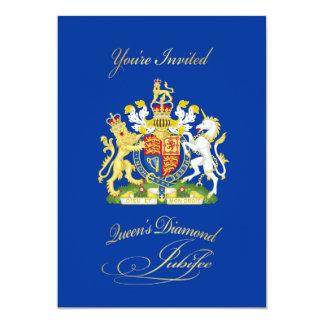 Queen Diamond Jubilee Party Invitation