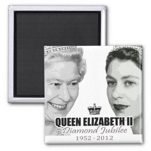 Queen Diamond Jubilee Souvenir Magnet magnets