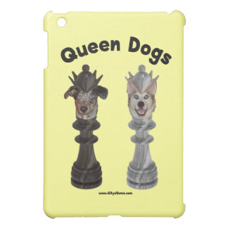 Queen Dogs Chess Case For The iPad Mini