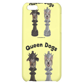 Queen Dogs Chess iPhone 5C Case