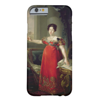 Queen Dona Maria Isabel de Braganza, 1829 (oil on Barely There iPhone 6 Case