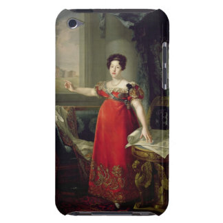 Queen Dona Maria Isabel de Braganza, 1829 (oil on iPod Touch Cover