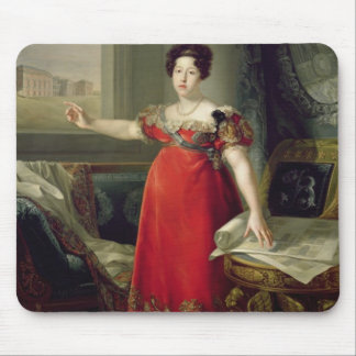 Queen Dona Maria Isabel de Braganza, 1829 (oil on Mouse Pad