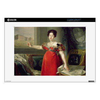 "Queen Dona Maria Isabel de Braganza, 1829 (oil on Skins For 15"" Laptops"