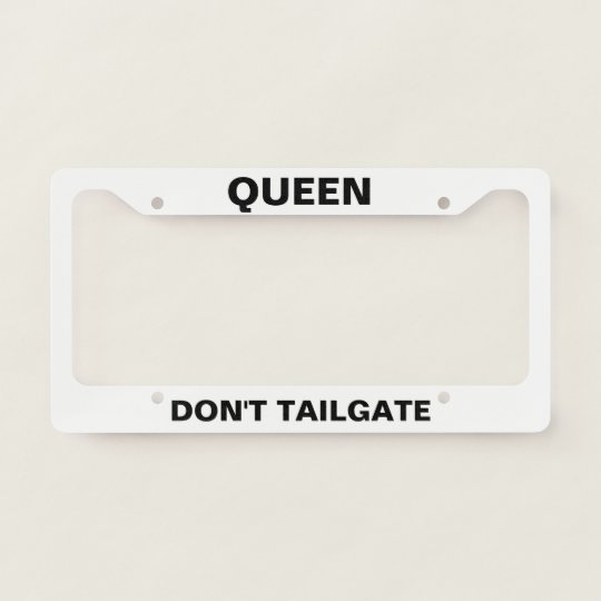 Joke License Plate Frames & Covers | Zazzle