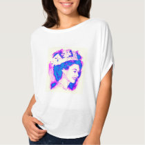 Queen Drawing on T-Shirt