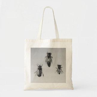 Queen Drone Worker Bee Keeping Apiology Apiarist Tote Bag