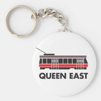 Queen East (Toronto) and Streetcar Key Chain