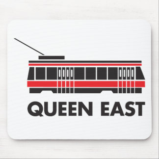 Queen East (Toronto) and Streetcar Mouse Pad