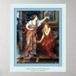 Queen Eleanor and Fair Rosamund ~ Evelyn De Morgan Poster