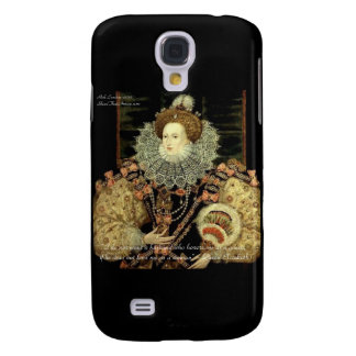 Queen Elizabeth 1 Love/Honour Love Quote Gifts Galaxy S4 Cover