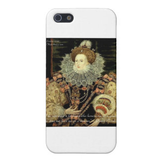 Queen Elizabeth 1 Love/Honour Love Quote Gifts iPhone SE/5/5s Case