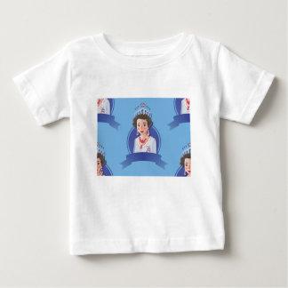 queen elizabeth 2 baby T-Shirt