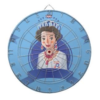 queen elizabeth 2 dartboard