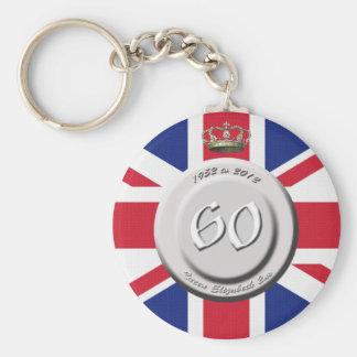 Queen Elizabeth 60 Year Jubilee Keychain