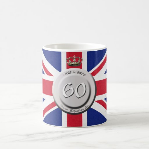 Queen Elizabeth 60 Year Jubilee Mug