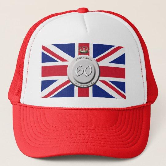 Queen Elizabeth 60 Year Jubilee Trucker Hat