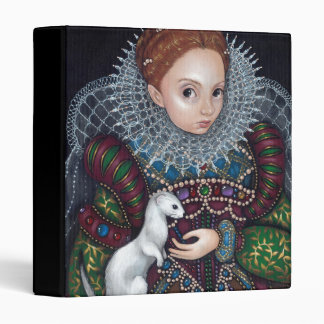 Queen Elizabeth and an Ermine BINDER Gothic Tudor