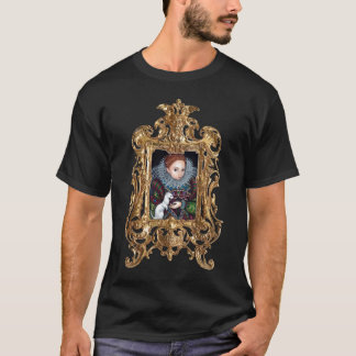 Queen Elizabeth and an Ermine Framed Shirt