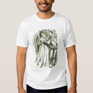 Queen Elizabeth and her Suitors T Shirt