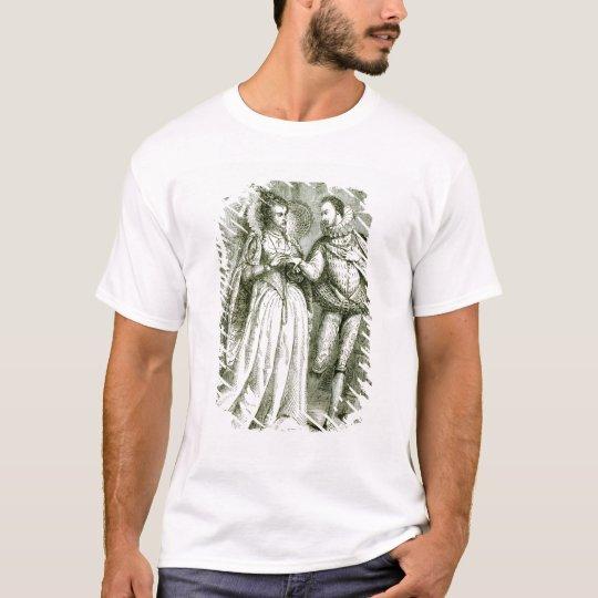 Queen Elizabeth and her Suitors T-Shirt
