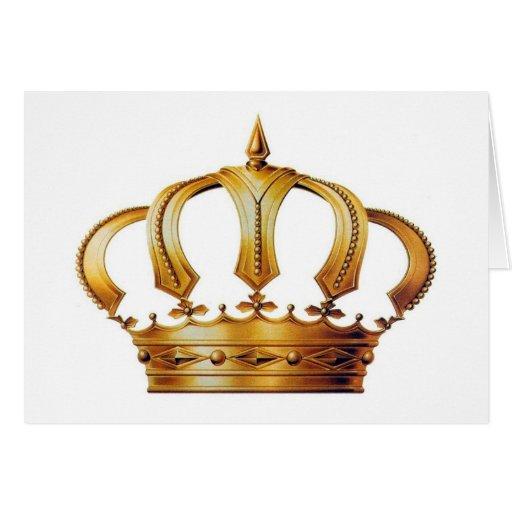 Queen Elizabeth Crown Card