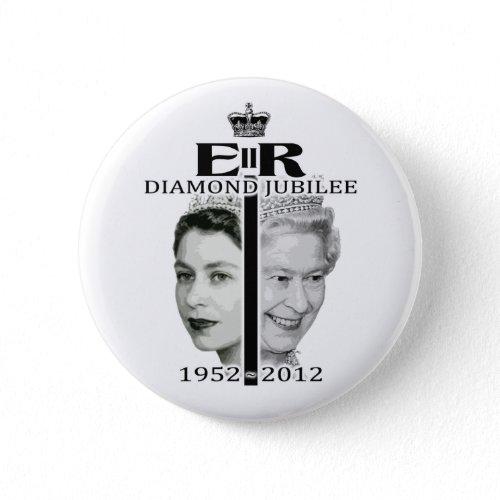 Queen Elizabeth Diamond Jubilee Button buttons