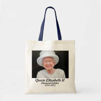 Queen Elizabeth diamond jubilee commemorative bag