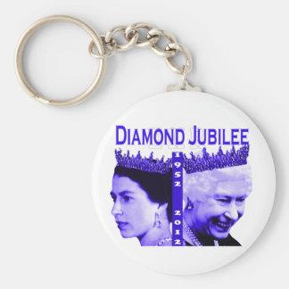Queen Elizabeth diamond jubilee keychain