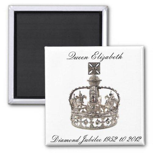Queen Elizabeth Diamond Jubilee Magnet magnets