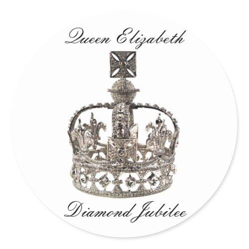 Queen Elizabeth Diamond Jubilee Stickers stickers