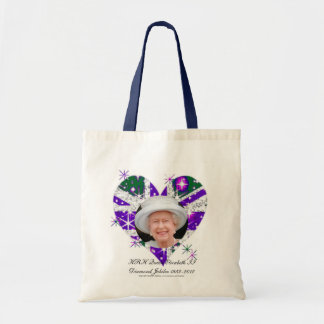 Queen Elizabeth Diamond Jubilee UK flag Bag