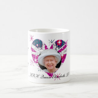 Queen Elizabeth Diamond Jubilee UK flag Coffee Mug