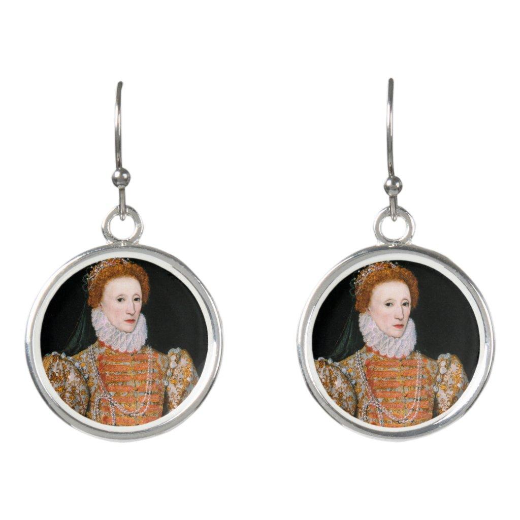 Queen Elizabeth - Drop Earrings