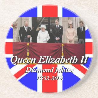 Queen Elizabeth family portrait Jubilee coasters