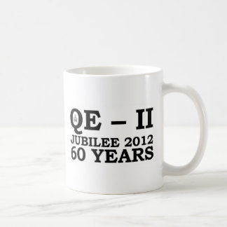 Queen Elizabeth Golden Jubilee Retro Coffee Mug