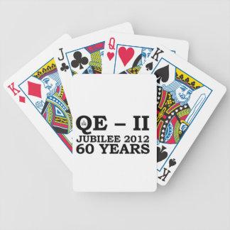 Queen Elizabeth Golden Jubilee Retro Poker Deck