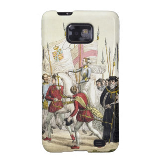 Queen Elizabeth I (1530-1603) Rallying the Troops Samsung Galaxy SII Cover