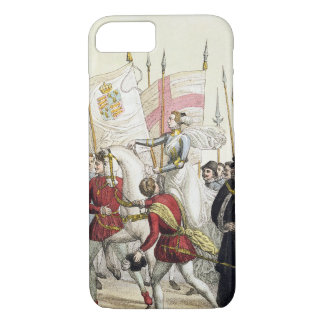 Queen Elizabeth I (1530-1603) Rallying the Troops iPhone 7 Case