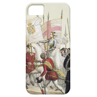 Queen Elizabeth I (1530-1603) Rallying the Troops iPhone SE/5/5s Case