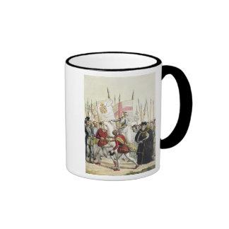 Queen Elizabeth I (1530-1603) Rallying the Troops Ringer Coffee Mug