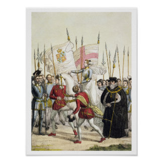 Queen Elizabeth I (1530-1603) Rallying the Troops Poster