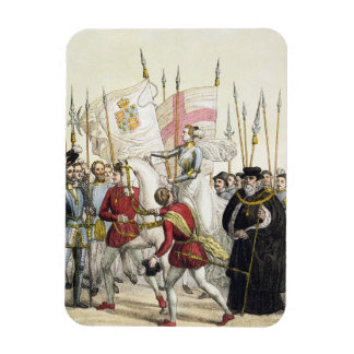 Queen Elizabeth I 1530-1603 Rallying the Troops Rectangular Magnets