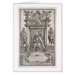 Queen Elizabeth I (1533-1603) as Patron of Geograp Card