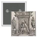 Queen Elizabeth I (1533-1603) as Patron of Geograp Pinback Button