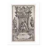 Queen Elizabeth I (1533-1603) as Patron of Geograp Postcard