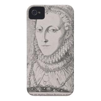 Queen Elizabeth I (1533-1603), c.1572-75 (engravin iPhone 4 Case-Mate Case