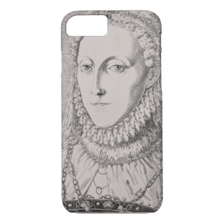 Queen Elizabeth I (1533-1603), c.1572-75 (engravin iPhone 8/7 Case